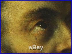 16th 17th Century Italian Old Master Saint Francis Monk Portrait Antique TITIAN