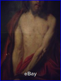 17th Century Old Master antique Oil Painting christ ecce homo italian 18th