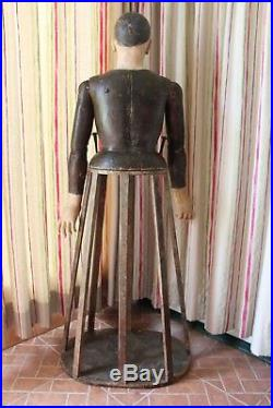 18th Century Life-Size Joan of Arc Santos Cage Doll, Mannequin, Religious, Saint