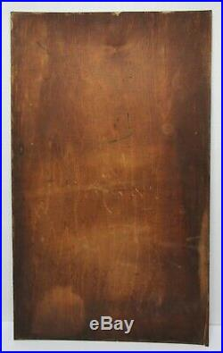 AMERICAN FOLK ART Antique EVANGELICAL JESUS SAVES PAINTED SIGN