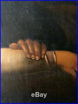 ANTIQUE 17th CENTURY OLD MASTER OIL PAINTING ORIGINAL ITALIAN 1650-1680