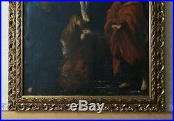 ANTIQUE 17th CENTURY OLD MASTER OIL PAINTING ORIGINAL ITALIAN NEAPEL 1650-1680