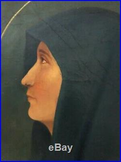 ANTIQUE 18th CENTURY OLD MASTER OIL PAINTING ORIGINAL ITALIAN NEAPEL 1720-1740