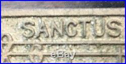 ANTIQUE CHIMESJ. C. Deagan Catholic Church Religious 5 Bronze Chime Set-Chicago