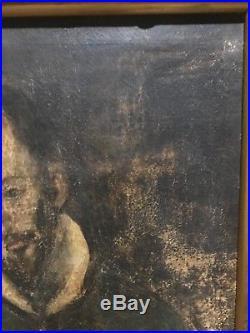 ANTIQUE RELIGIOUS El Greco PORTRAIT Bible RUSSIAN PAINTING noble 1600 1700