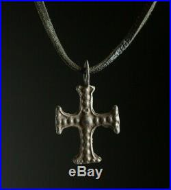 Ancient Templar cross 12th-13th century AD Medieval Knights Necklace, Religious