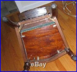 Antique 1880's Victorian Prie-dieu Catholic Religious Prayer Chair Steampunk