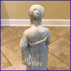 Antique 19th C. Copeland Opus Theed Parian Ware Sculpture / Statue Ruth