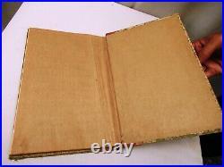 Antique Arabic Islamic Quran Koran Religious Muslim Holy Book Printed Hard Cove