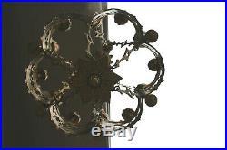 Antique Bronze Neo Gothic church castle Chandelier religious