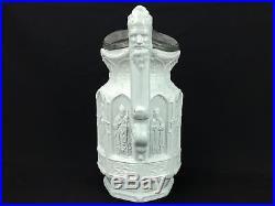 Antique English Gothic Religious Charles Meigh Stoneware Apostles Jug Pitcher