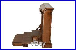 Antique French Oak Church Kneeler, Large & Sturdy, 19th Century, Religious