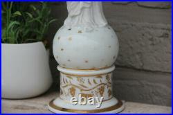 Antique French Religious vieux paris porcelain bisque madonna figurine statue