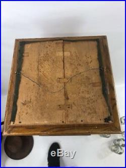 Antique Paper Punch Sampler Religious Crosses Tramp Art Rare