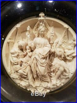 Antique Religious Meerschaum 1800s