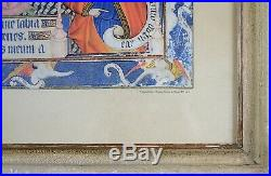 Antique Religious Print, Framed Wall Art, Collectible Antique Lithograph