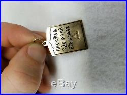 Antique Russian 14kt Gold Enamel Hallmarked Faberge Religious Icon Madonna