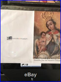 Antique renaissance Church Religious 17th-18th Century Madonna &Child Painting