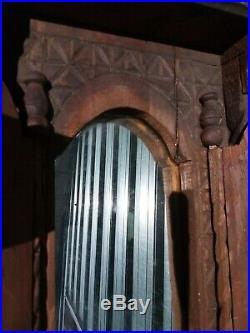 Antique wooden alter mirror spiritual catholic religious