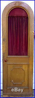 CONFESSIONAL DOOR Religious Furniture Arch Top Door