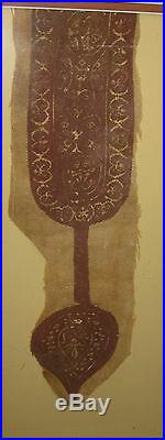 Early Antique Christian Coptic Cloth Religious Antiquity 5th century Textile