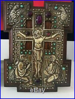 Fabulous Original Art Nouveau, French, Religious Plaque