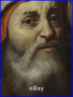 Fine Huge 16th Century Italian Old Master Ecce Homo Antique Oil Painting LIGOZZI