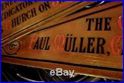 Gilded Age Paul Muller Cannstatt Antique Religious Salvage