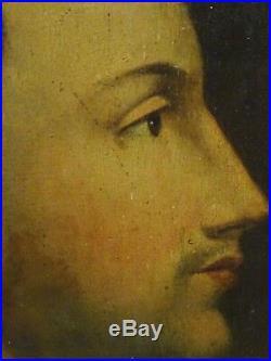 Large 16th Century Italian Old Master Saint Thomas Aquinas Portrait Antique