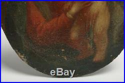 MUSEUM ACQUIRED OLD MASTER ANTIQUE 17th C Religious Mary and Jesus Painting