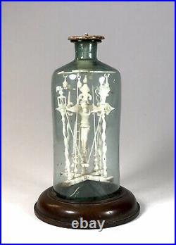 Rare Antique Napoleonic Prisoner Of War Religious Carving 1815