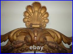 Rare Monumental 18th Century Italian Gold Gilt Religious Altar Frame #1