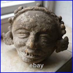 Rare ceramic South American Toltec religious incense burner Circa 10th century
