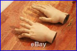 Santos Cage Doll, Life-Size Pair of Sacred Hands, 18th Century Baroque Religious