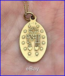 Tiffany & Co Exquisite Antique and Extremely Rare 14k Miraculous Metal