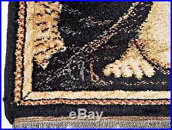 VINTAGE LAHORE RELIGIOUS ART HOLY MARY&BABY JESUS WALL TAPESTRY CARPET95x130cm