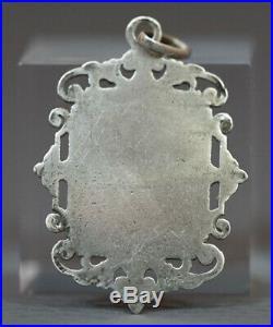 Victorian Gold Chalice Silver Communion Eucharist Pendant Religious Medallion